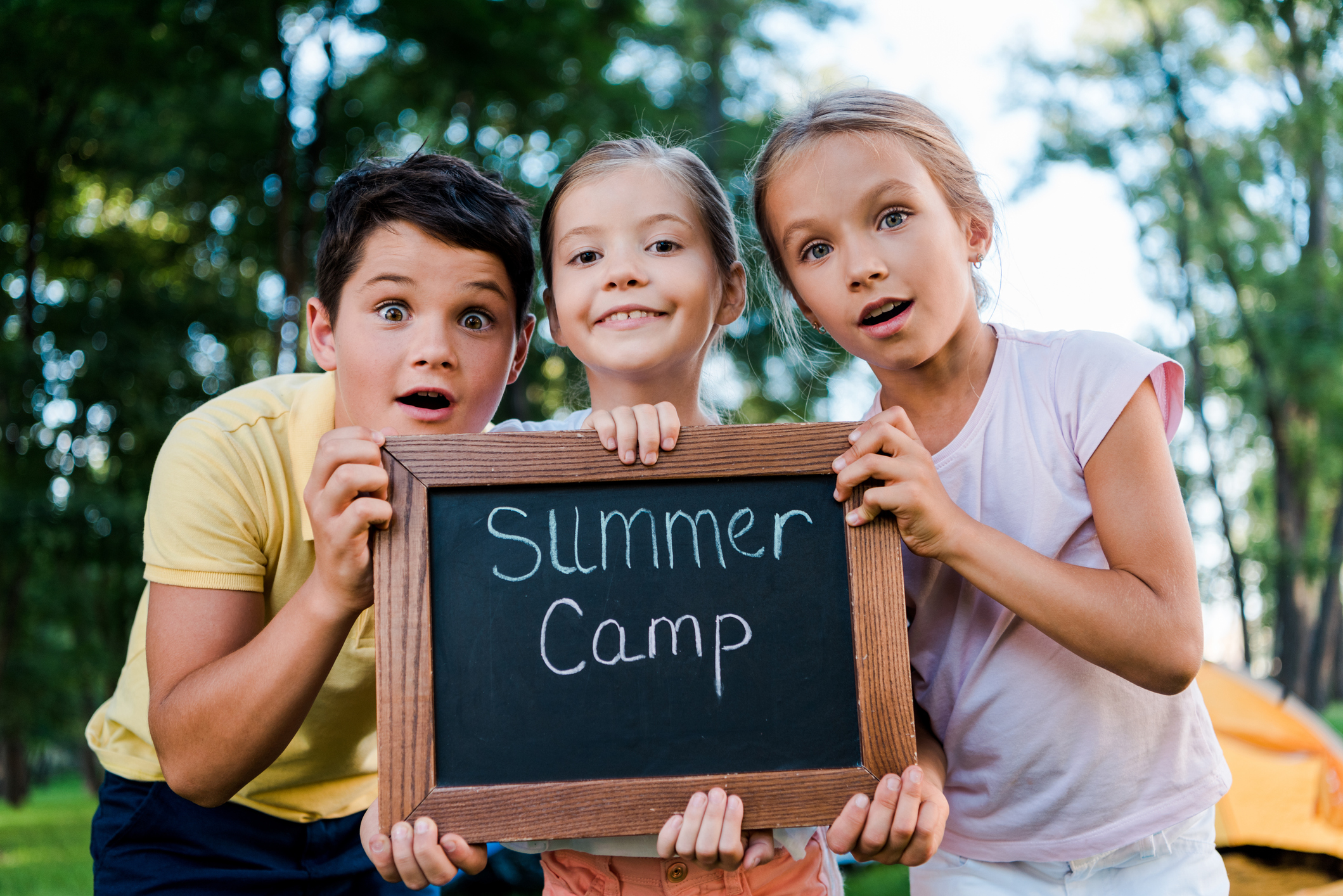 Protect your campers from mosquitoes and ticks.