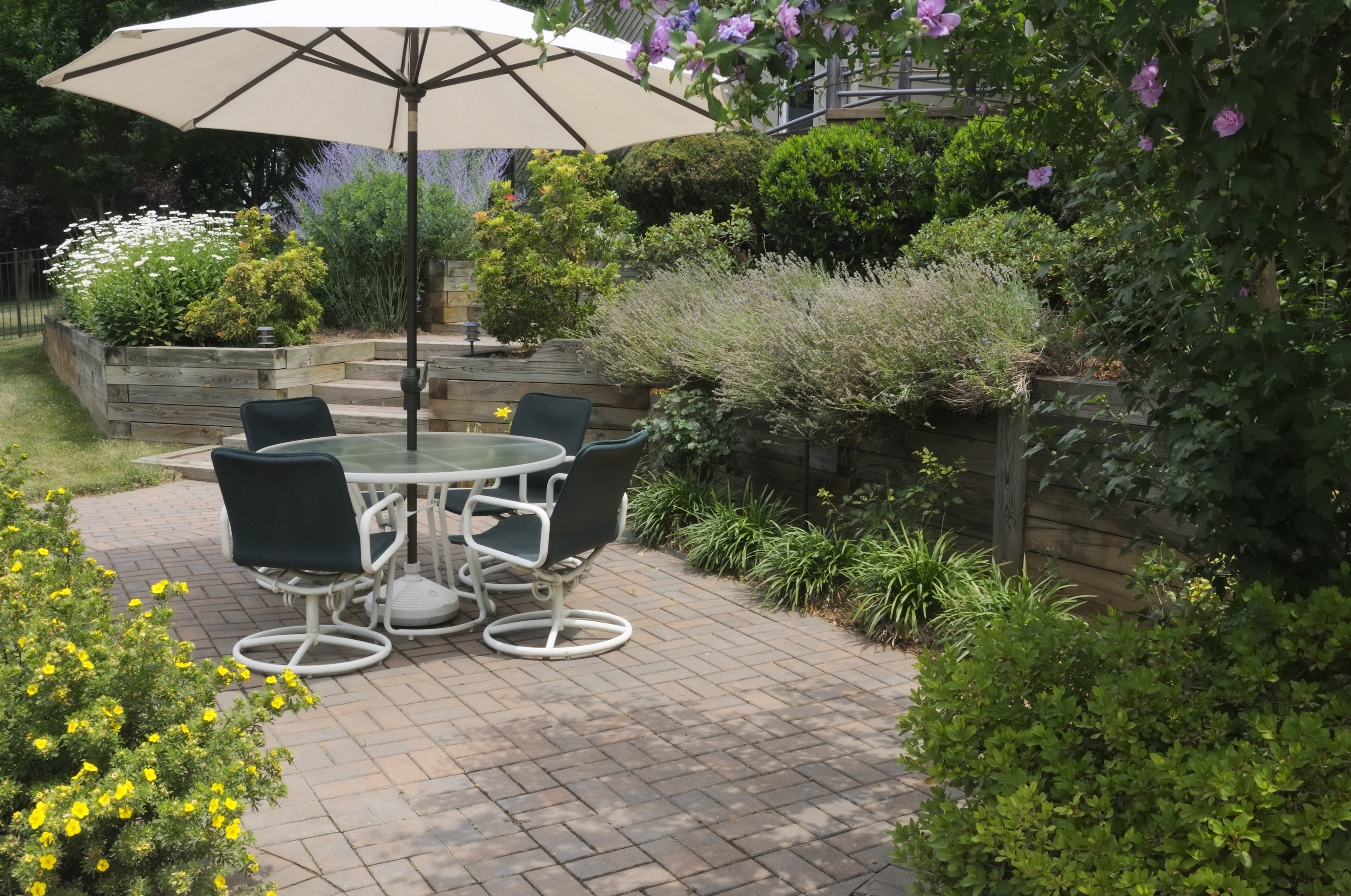 Keep mosquitoes away from your patio.